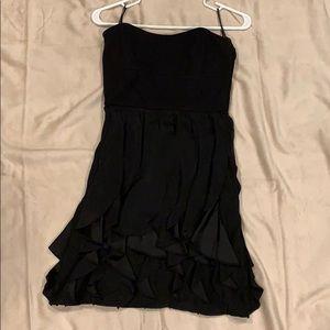 Cynthia Steffe black strapless dress